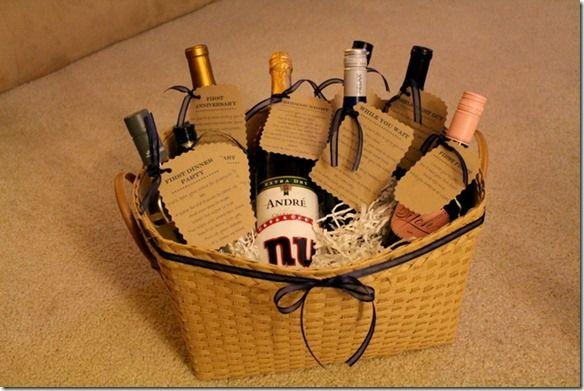 Wedding Wine Gift Basket: 95 Best Images About Diy Wedding Wine Basket Ideas On