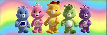 Care Bears Party: Free Printable Candy Bar Labels.