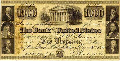 u.s. one thousand dollar bill | United States one thousand dollar bill