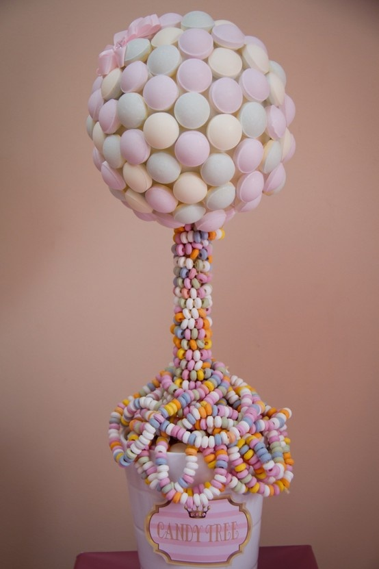 Candy tree  gifts  Candy trees Candy centerpieces Tree