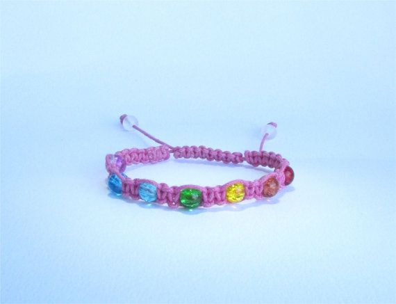 Pink Healing Chakra Bracelet from Ireland by DelabudCreations