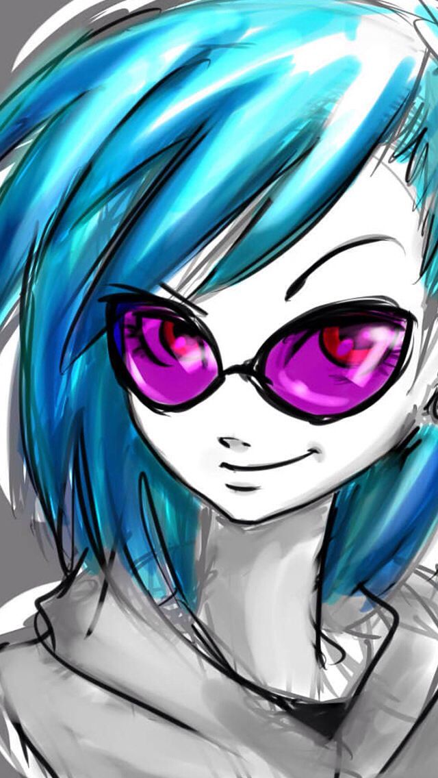 Vinyl Scratch And Neon Lights Fanfic
