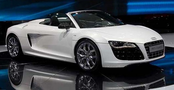 Audi R8 Spyder I D Like This So Much More If It Wasn T A Ragtop Convertible You Think With All The Money That Wants For Its Cars