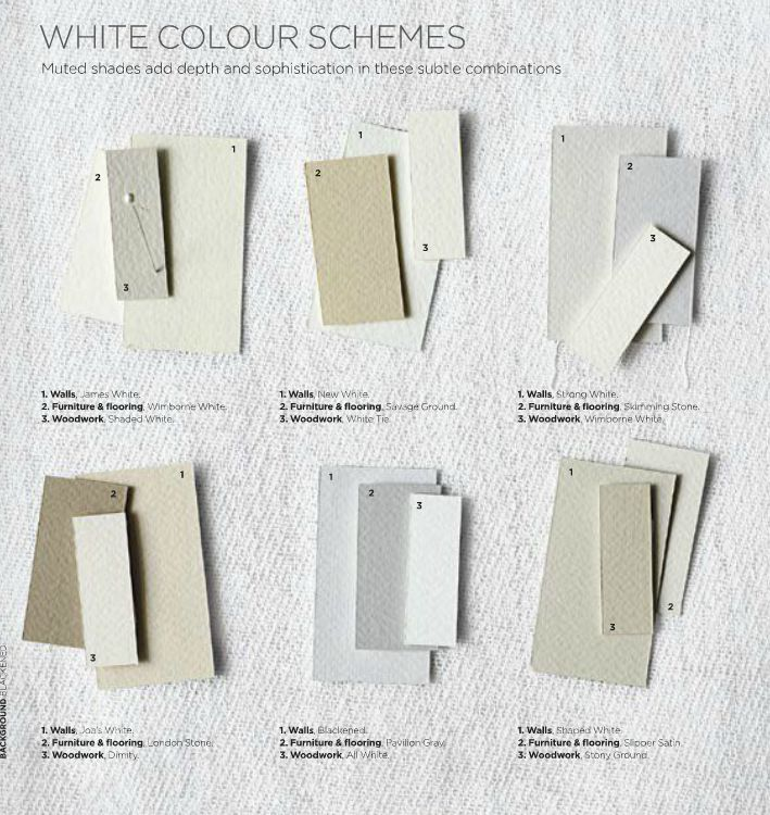 Neutral color schemes can provide stimuli relief for the environmental and stimuli sensitive person