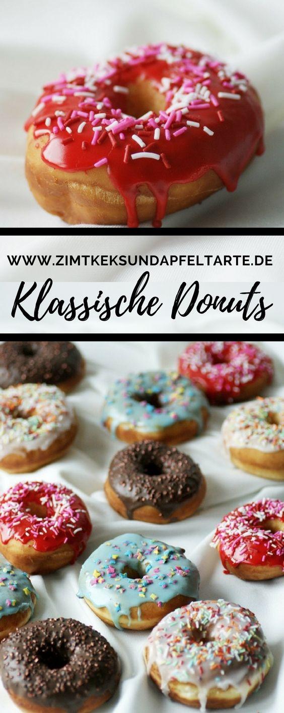 Lecker, fluffig, einfach zu backen - mein Rezept für klassische Hefe-Donuts - Doughnuts zum Fasching, Karneval, Kindergeburtstag oder zur Kaffeestunde - einfach lecker!