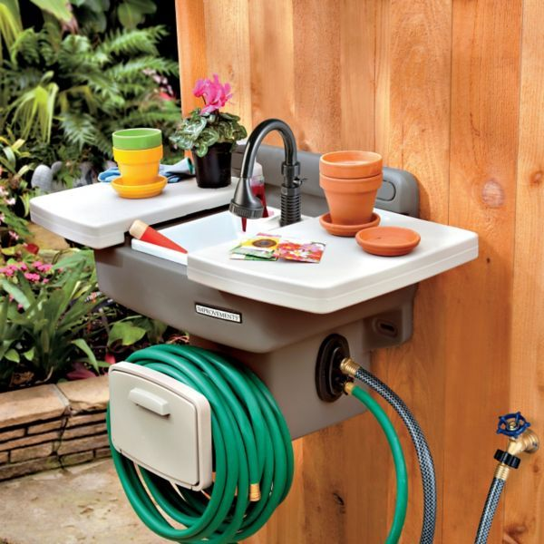 Backyard Kitchen Garden: 25+ Best Ideas About Outdoor Garden Sink On Pinterest