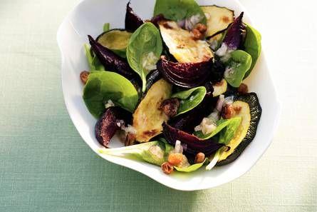 Courgette, biet en spinazie