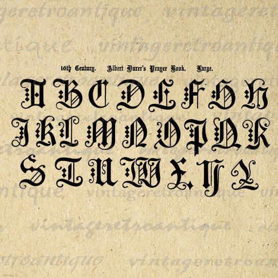 17 Best Ideas About Gothic Alphabet On Pinterest Gothic
