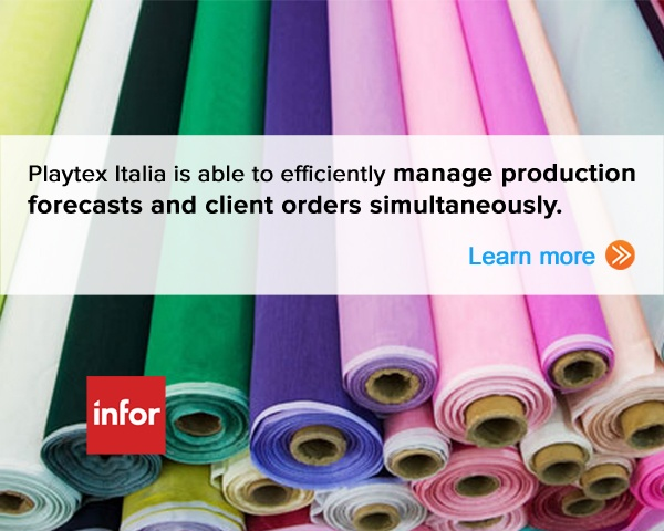 Playtex Italia, a leading underwear manufacturer is able manage production forecasts and client orders simultaneously. Learn More.