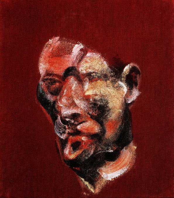 Bacon - Three Studies for a Portrait of Lucian Freud - right