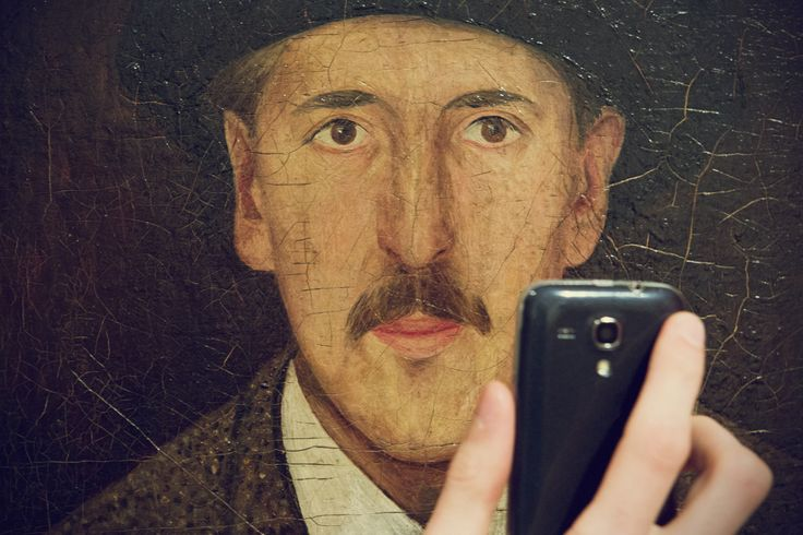 Tadeusz Makowski, Autoportret, ok. 1919
