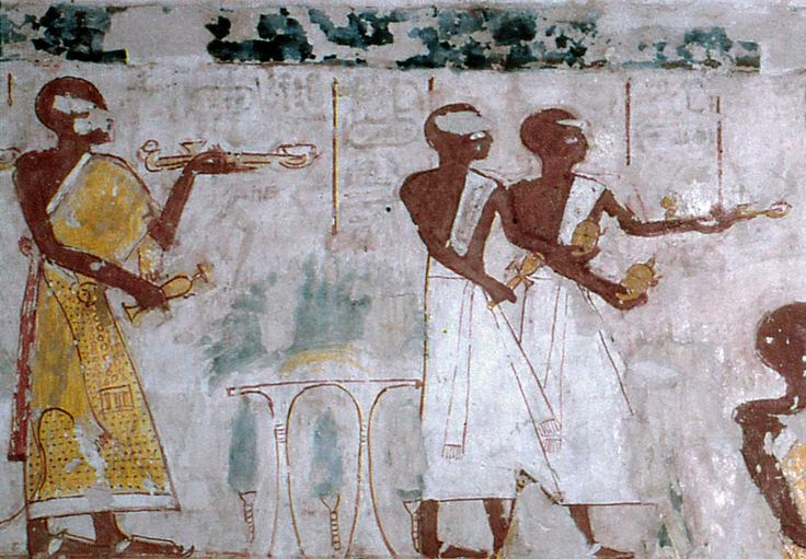 Tomb of Khonsu (TT31), reign of Rameses II: Priests © OSIRISNET.NET