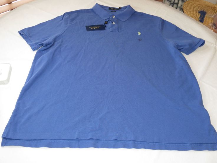 Polo Ralph Lauren cotton Mens short sleeve polo shirt Classic Fit 929013 XXL #PoloRalphLauren #PoloRugby