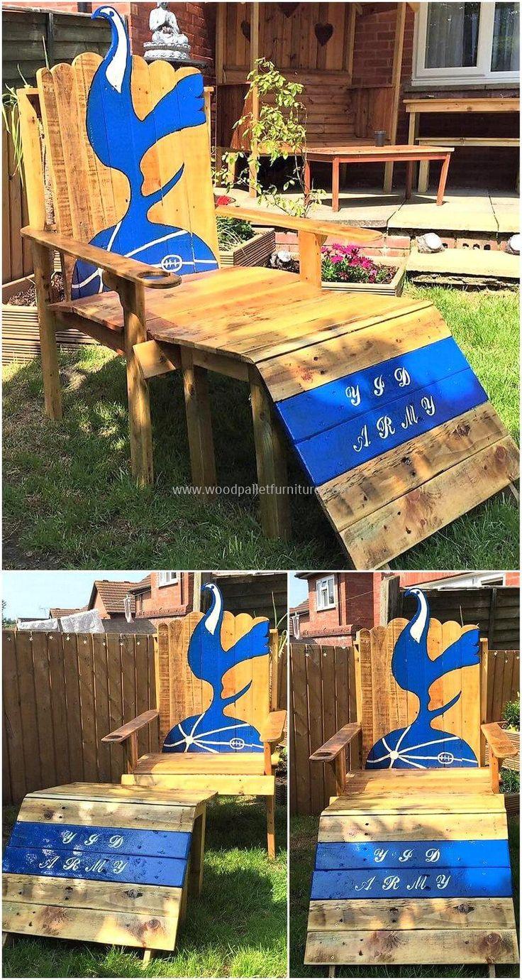 diy motive ideas for wood pallets repurposing pallets wooden garden chair plan