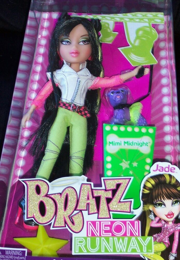 Bratz Neon Runway Jade Bratz Bratz Yasmin Neon Fashion Dolls