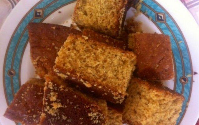 Νηστίσιμο κέικ με πορτοκάλι και καρύδια - iCookGreek