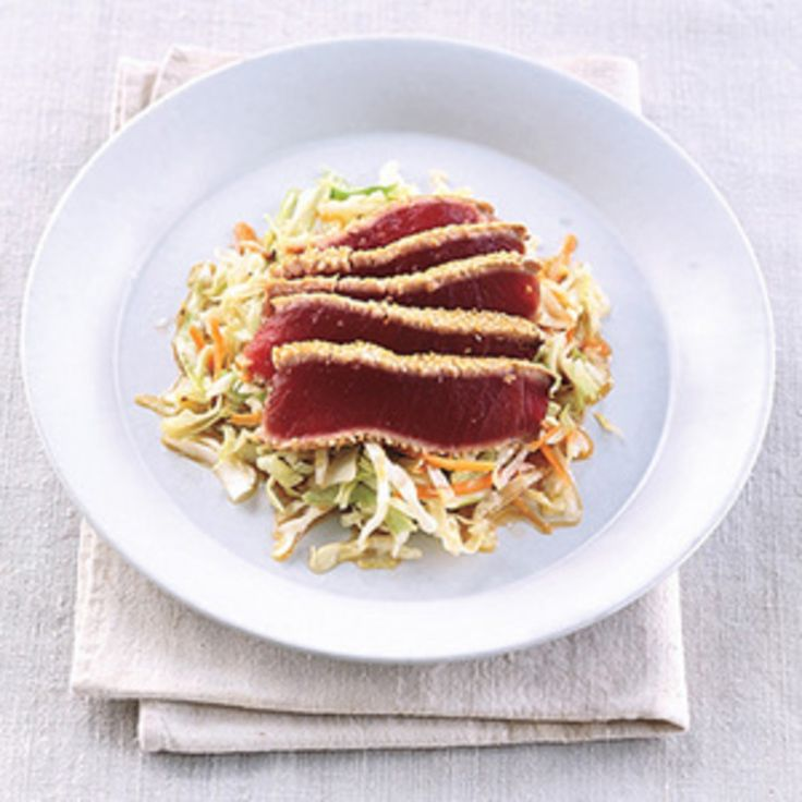 Seared Sesame Tuna - Rachael Ray Every Day
