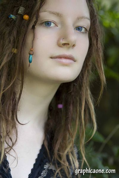 natural dreads with beads. gorgeous. - starting mine next week, naturally - w/a bit of twist and rip, wish me luck!