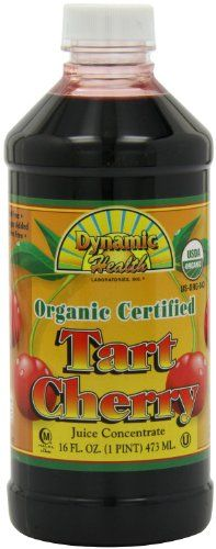 Dynamic Health 100% Pure Organic Certified Tart Cherry Juice Concentrate, 16-Ounce (Pack of 2) Dynamic Health http://www.amazon.com/dp/B00HUE9B8G/ref=cm_sw_r_pi_dp_nrvVub0FA21FB