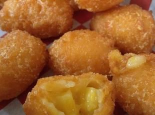 Texas Corn Nuggets Recipe....I've wanted to make these for years!!! LOVE corn nuggets!