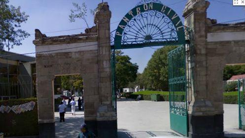 O assombrado Cemitério Panteón de Dolores.
