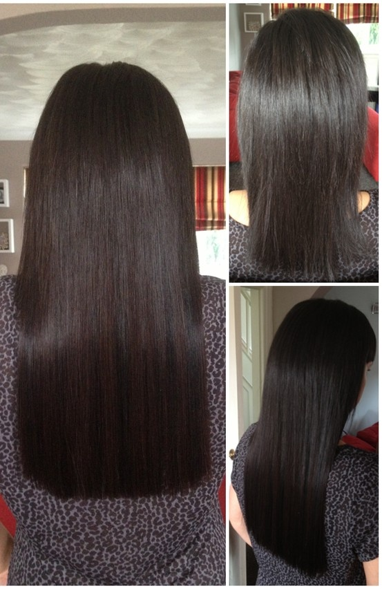 Ultrasonic Cold Fusion Hair Extensions A Half Head Of 18 Russian Remy In