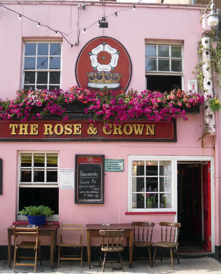 The Rose & Crown, Oxford.  My college's pub.