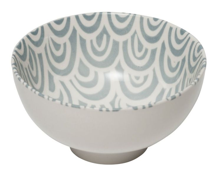 General Eclectic Scallop Bowl - Grey image