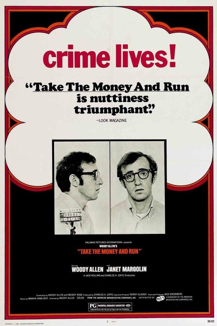 Toma el dinero y corre [Vídeo (DVD)] / dirigida por Woody Allen