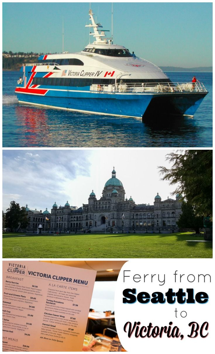 how to travel from seattle to victoria british columbia