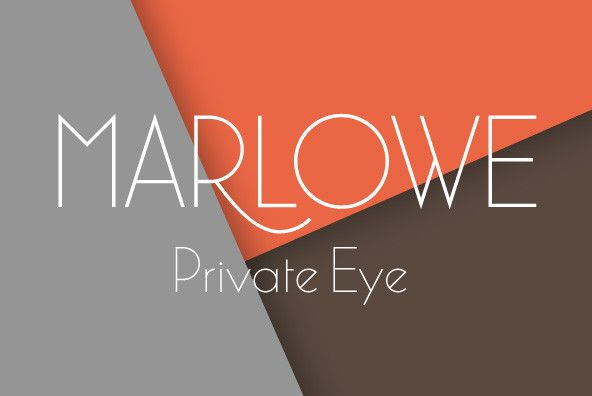 Marlowe - If you are looking for a unique typeface of light and pure elegance, Marlowe will be your choice....