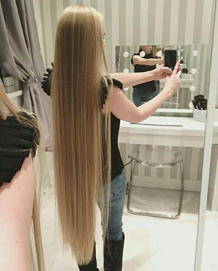 Long Blonde Hair Lang Haar Superlang Haar Blond Haar