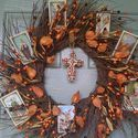 Autumn and All Saints Day Decor {Link-up} | Catholic Inspired