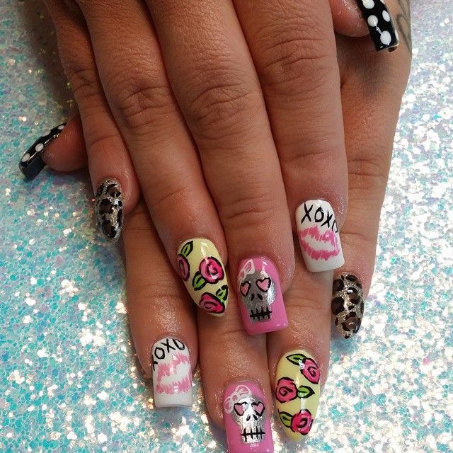 139 best curved nails images on Pinterest | Nail scissors, Acrylic ...