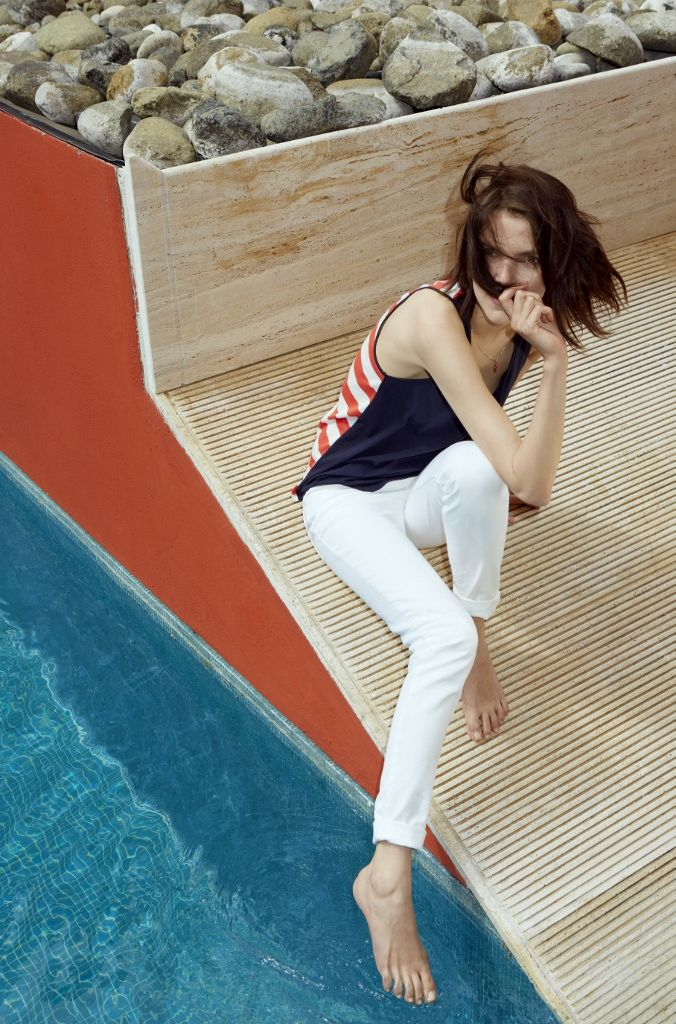 Spring/Summer 2014 lookbook - #womensfashion #stripes #PetitBateau http://www.petit-bateau.fr/?CMP=SOC_11732&SOU=&TYP=SOC&KW=pinterest