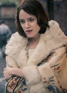 Sophie Rundle as Ada Thorne (née Shelby), in 'Peaky Blinders'