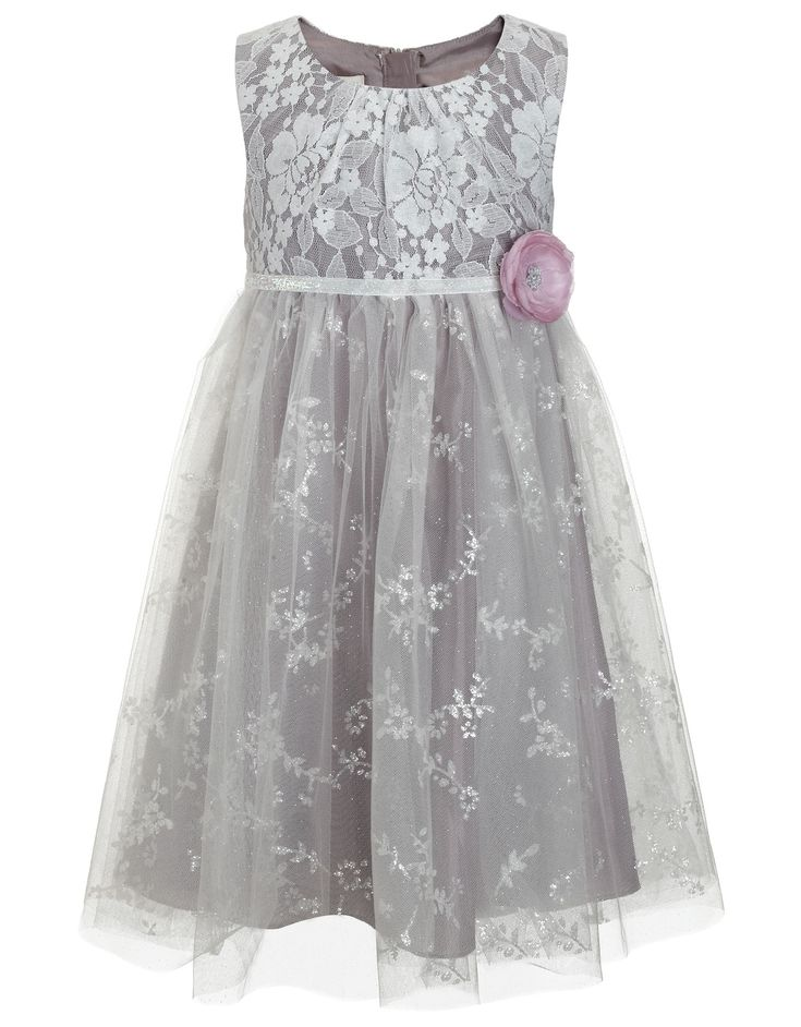 Giselle Dress | Grey | Monsoon