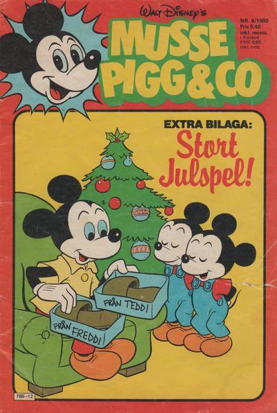 GCD :: Cover :: Musse Pigg & C:o #6/1980