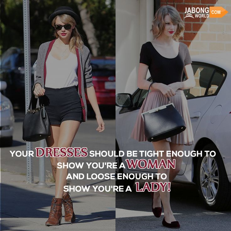 So, are you a women, a lady, or both? #JWquotes #Fashion #Womenhood #TaylorSwift