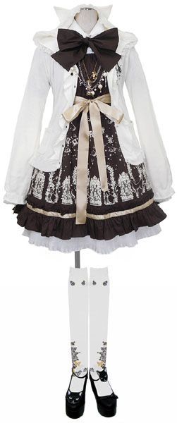 Casual Gothic Lolita Coordinate By Putumayo