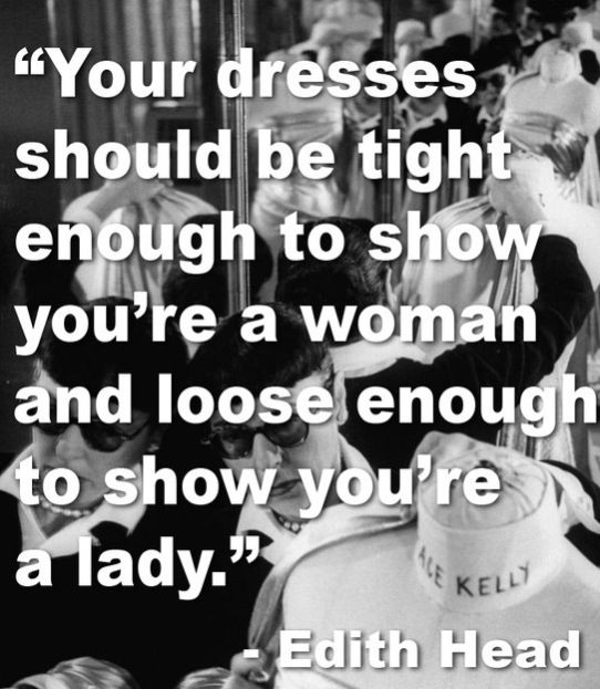 I love this. There's a difference between  classy and trashy.