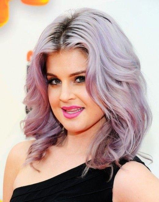 Grey Hair, Purple Hair, Hair Colors, Hairstyles For Fat Women, Kelly ...