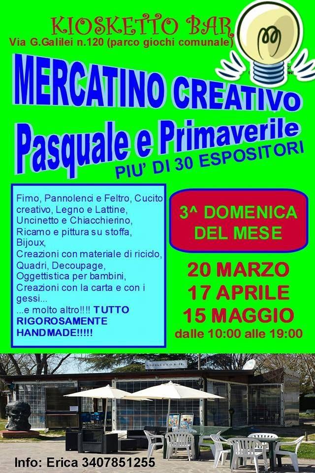 *** Le Maddine vi aspettano al Mercatino Creativo Pasquale e Primaverile *** #madeinfacebook #lemaddine