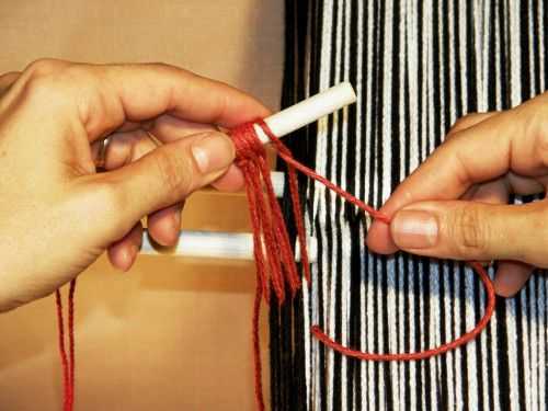 Continuous String Heddle