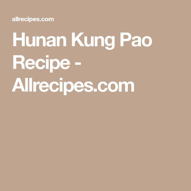 Hunan Kung Pao Recipe - Allrecipes.com