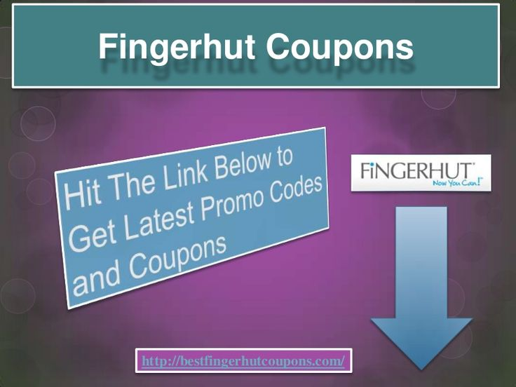 Fingerhut coupon code
