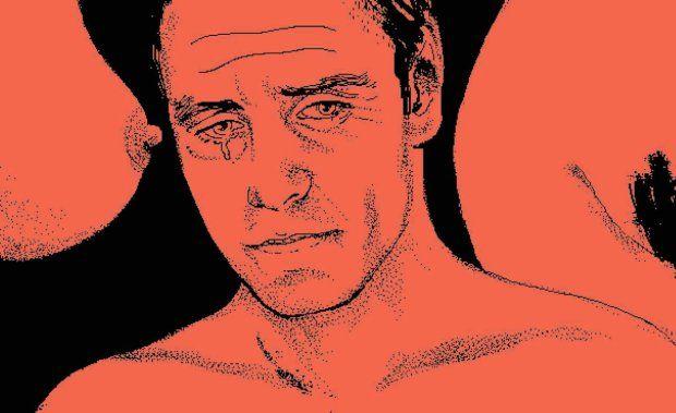 Rysunek: Agata Nowicka Artykuł: Seksoholicy i zwykli łajdacy