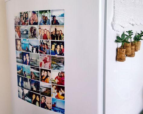 Aprenda a transformar fotos em ímãs de geladeira