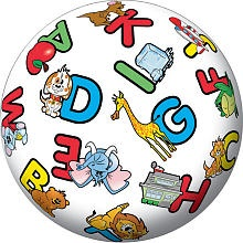 Playground Ball - Alphabet-Use for Letter Recognition, beginning sounds, ending sounds
