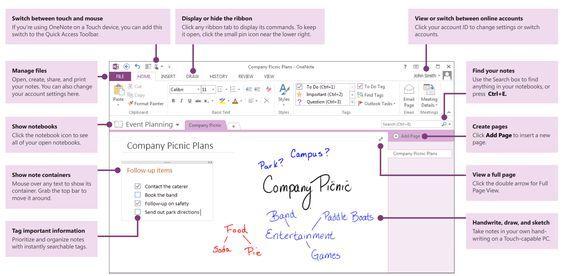 Microsoft One note tutorials